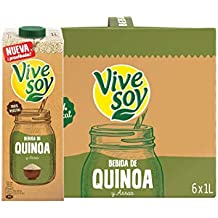 Vivesoy Bebida de Quínoa - Paquete de 6 x 1000 ml - Total: 6000 ml