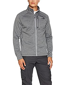 The North Face M Canyonlands Full Zip Chaqueta, Hombre, TNF Gris Medium, XL