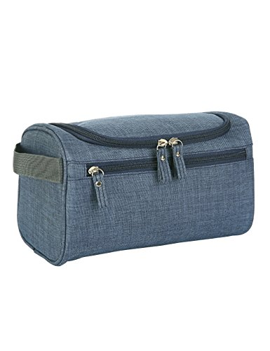 Price comparison product image Caeser Archy Hanging Toiletries Storage Bag Men Make Up Box Travel Luggage Bags For Gym Sport Bag Accessories Blue