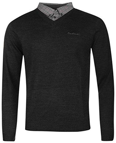 maglione-da-uomo-con-collo-a-v-charcoal-marl-xxl
