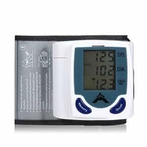 [Envoi GRATUIT 7~12 jours] tensiometre poignet numerique & Heart Beat Meter // Digital Wrist Blood Pressure Monitor & Heart Beat Meter