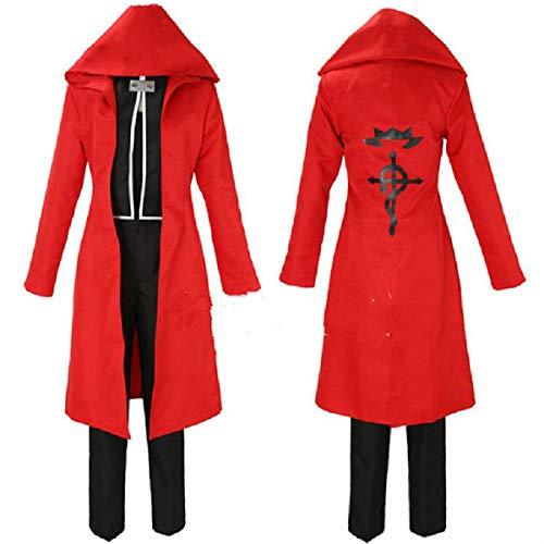 Todes Engel Frauen Des Kostüm - YLET Anime Cosplay Kostüm Halloween Karneval Uniform Umhang Cos Kostüm,Red-S