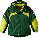 Jack Wolfskin Jungen 3-in-1 Jacke Boys Topaz Winter Jacket 3in1-jacke, Beech Green, 140