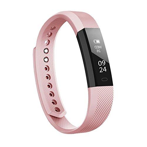 Smart Fitness Tracker, Annci Aktivitätstracker Sport Armband Schrittzähler Touchscreen Smart Band mit Schritt/Kalorienzähler/Sleep Monitor Tracker/CALL Benachrichtigung Push für iPhone IOS und Android Handy