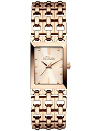 s.Oliver Damen-Armbanduhr Analog Quarz Edelstahl SO-2875-MQ