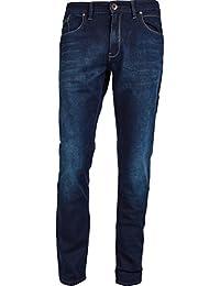 Mish Mash Jeans 1984 Attac Dark Blue Tapered Fit Regular Thigh Jeans