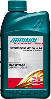Preisvergleich Produktbild ADDINOL GETRIEBEÖL GX 80W-90, 4 Liter