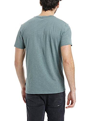 Bench Herren T-Shirt Coldness Grün (Balsam Green GR157)