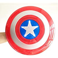 Indian Express Captain America Plastic Shield (Red and Blue)