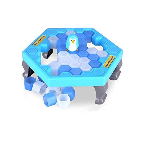 Juego de Estrategia Familiar! Penguin Trap Kid's Game, Quién Hace Que el Pingüino Se Caiga?