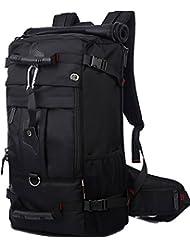 ARINO Sac à Dos de Randonnée Résistant pour Adulte, Sac au Dos Etanche avec Serrure à Combinaison pour Trekking, Alpinisme, Voyage - 40L / 55×32×20 Centimètres