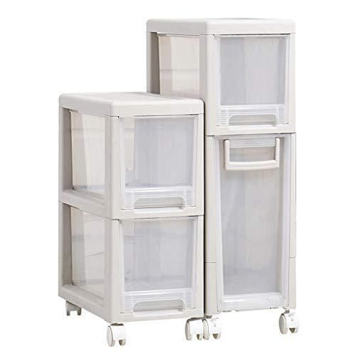 LPZ Regal-Speicher-Kabinett-Fach-Art Locker Kitchen Crack-Schmales Hohes Badezimmer-Schlafzimmer-Abstand-Kabinett LPZV (größe : 42.5 * 20 * 70CM) -