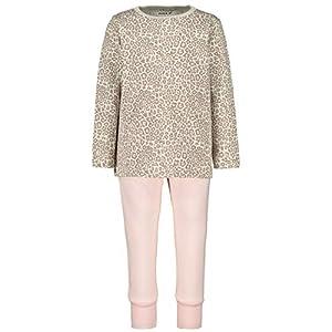NAME IT Nmfnightset Barely Pink Ani AOP Noos Conjuntos de Pijama para Bebés 15