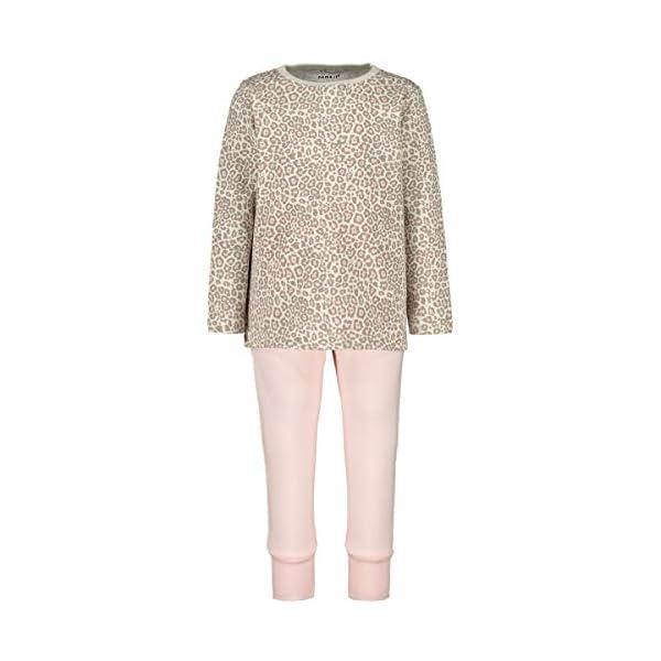 NAME IT Nmfnightset Barely Pink Ani AOP Noos Conjuntos de Pijama para Bebés 1