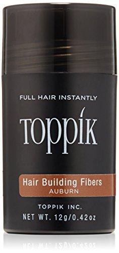 Toppik Hair building Fibers - Fibre di Cheratina Naturali, Castano ramato (Auburn), 12 gr