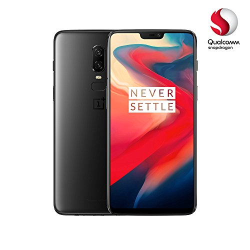 OnePlus 6 Smartphone (15,95 cm (6,28 Zoll) 19:9 Touch-Display, 128 GB interner Speicher, Android 8.1 Oreo/Oxygen OS 5.1), Midnight Black