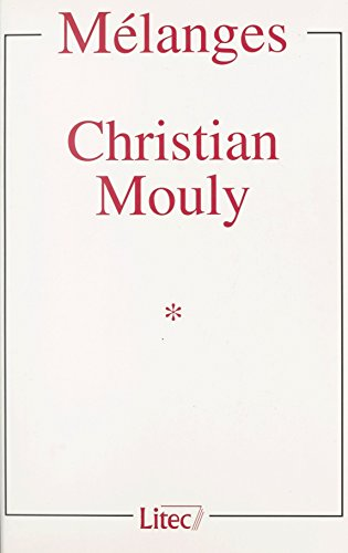 Mlanges Christian Mouly (1)