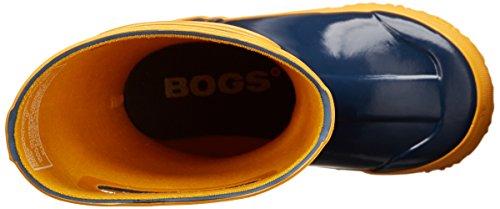 BOGS Rainboot Stripes Kids Blau