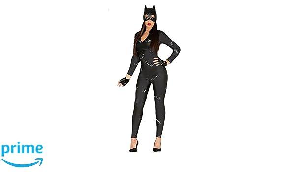 shoperama Cat Movie Catsuit Cat Woman Halloween Women Costume Mask Size M   Amazon.it  Giochi e giocattoli c5b30b767b59