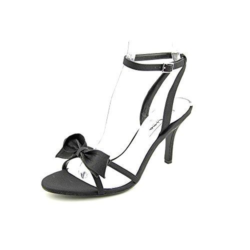 Nina Vianna Damen Stoff Sandale Black