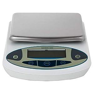 Buoqua 15kg-0.1g Laborwaage Electronic Scale Analytical LCD 220V Analytical Balance Scale Lab Balance Digitale Präzision Feinwaagen