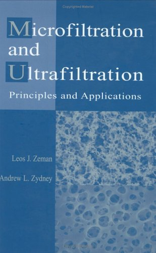 Microfiltration and Ultrafiltration: Principles and Applications (English Edition)