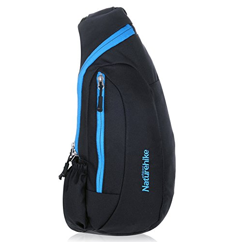 Imagen de vbiger bolso pechera hombro bolsa mensajero  para excursión cámping deporte cámara azul