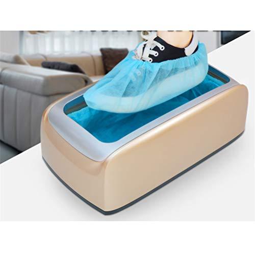 GFYWZ La máquina automática de Cubiertas de Zapatos con 100 Piezas de plástico Desechables Cubre...