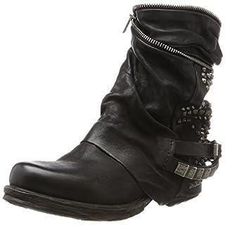 A.S.98 Damen Saintec Biker Boots Schwarz (Nero) 37 EU