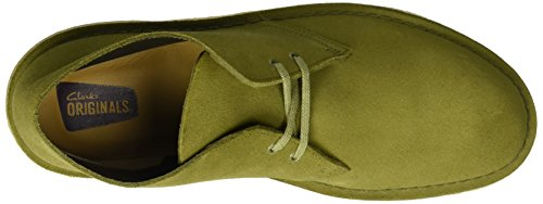 Clarks Originals Herren Desert Boot Grün (Evergreen Suede)