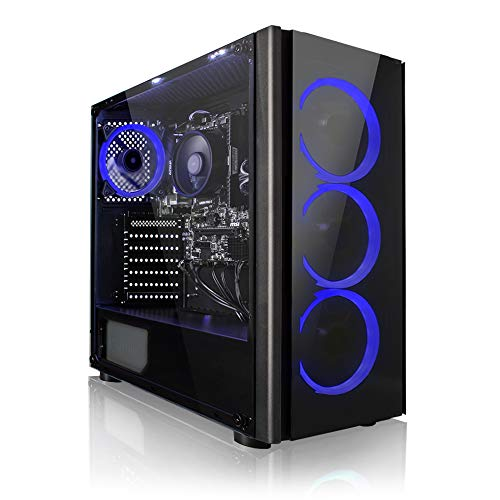 Megaport Unité Centrale PC Gamer Argonaut AMD Athlon 3000G 2X 3.50GHz • 8 Go DDR4 • 1 to • Windows 10 • USB3.0 • Ordinateur de Bureau • PC Gaming • Ordinateur Gamer
