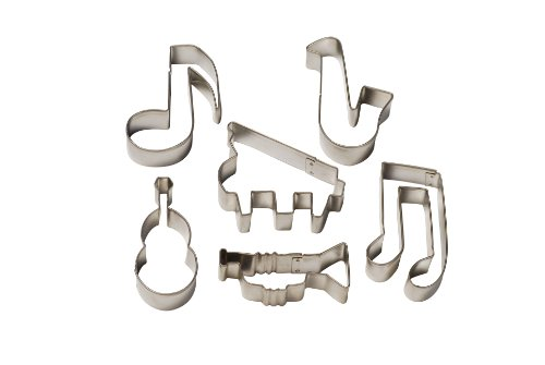 Swift Ausstechformen mit Musik-Motiven, 6 Stück