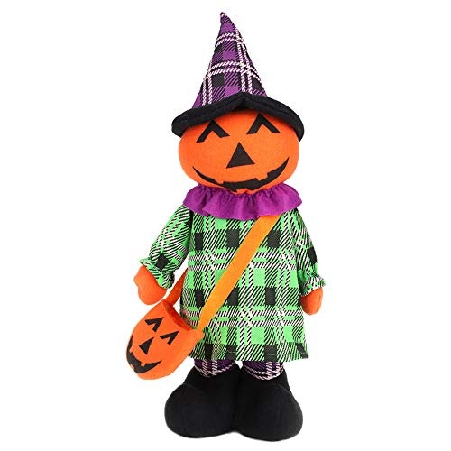 Pumpkin - Halloween Decoration stretch - 40-50 cm 15-19 ""