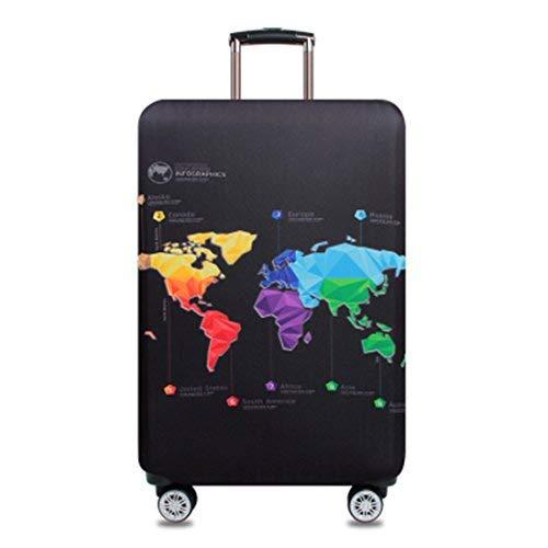 Bestja Elastisch Kofferhülle Kofferschutzhülle Gepäck Cover Reisekoffer Hülle Koffer Schutzhülle Luggage Cover mit Reißverschluss (Ma...
