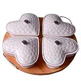 Obstteller Im Japanischen Stil Pralinen Trockenobst Box Wohnzimmer Kreative Keramik Split Obst Unter Schüssel
