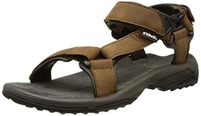 Teva Terra FI Lite Leather Braun, Damen Sandale, Größe EU 41 - Farbe Brown Damen Sandale, Brown, Größe 41 - Braun