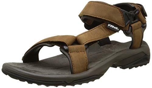 Teva Terra Fi Lite Leather M's, Herren Sandalen, Trekking- und Wanderschuhe, Braun (Brown), 43 EU