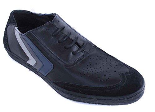 Energie Herren Schuhe Sneaker Schnürer Schwarz Gr 40 #4(EUR 40) (Sneaker Energie)