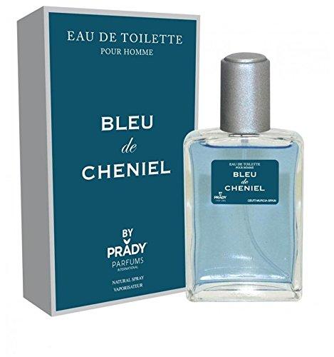 BLEU - Parfum Homme generique / Inspiré par la prestigieuse parfumerie de Luxe / Eau De Toilette 100ml - Licences Discount ( Livraison Gratuite ) - Pas cher / bas prix / Destockage