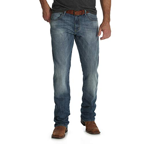 Wrangler Herren Big and Tall Retro Slim Fit Straight Leg Jeans, Aberdeen, 31W / 38L -