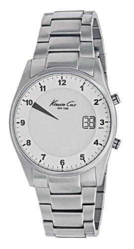 Kenneth Cole New York Unisex KC3962 Digital Silver Screen Dial Watch