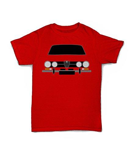 Alfa Romeo GTV 1750 Red T-shirt for Adult