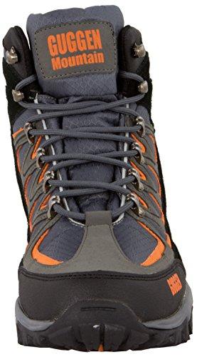 Guggen Mountain Chaussures De Randonnée Chaussures De Trekking Chaussures De Montagne Chaussures De Montagne Sexe Neutre Unisexe Hommes Et Femmes M009 Gris (grau-orange)