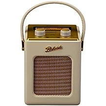 Roberts Radio Revival - Minirradio digital DAB/DAB+/FM, diseño vintage, color naranja