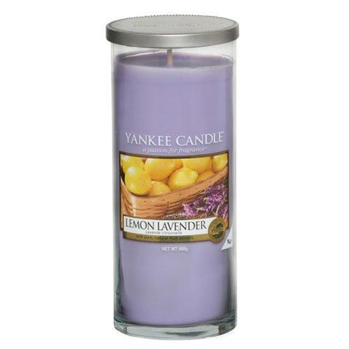 Yankee Candle Lemon Lavender Large Pillar