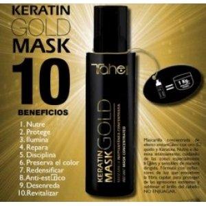 Tahe Keratin Gold-Maske 125 ml -