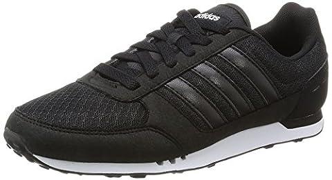 adidas City Racer W, Chaussures de Sport Femme, Noir (Negbas / Negbas / Ftwbla), 40 EU