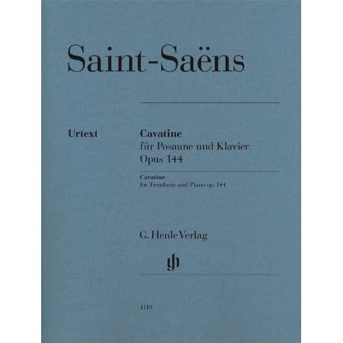 Cavatine Opus 144 --- Trombone et Piano