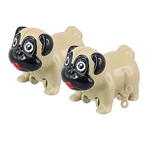 50 Cincuenta Regalos - Juguetes con Muelle de la Herida, en la Forma de un Pug