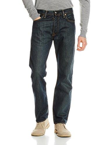 Levi's 501 Levis Original Fit, Jeans Homme Bleu (Dark Clean)